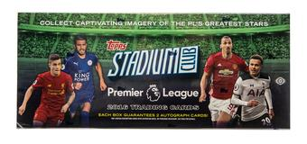 2016 Topps Stadium Club Premier League Soccer Hobby Box