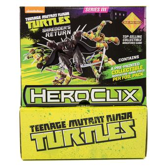 Teenage Mutant Ninja Turtles Heroclix: Shredder's Return Gravity Feed Box (24 Ct.)