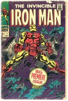 Iron Man #1  GD-