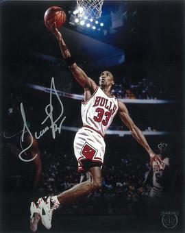 Scottie Pippen Autographed 8x10 Photo 2016 The National Panini VIP Signings