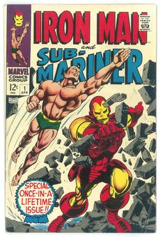 Iron Man and Sub-Mariner #1  FN-