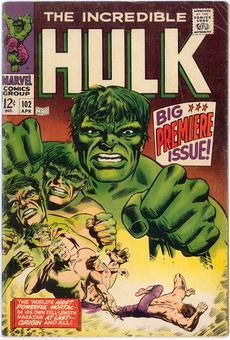 Incredible Hulk #102  VG/FN