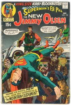 Superman's Pal Jimmy Olsen  #134  VG-