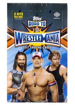2017 Topps WWE Road to Wrestlemania Wrestling Hobby Box