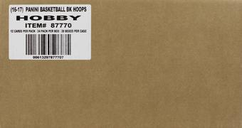 2016/17 Panini Hoops Basketball Hobby 20-Box Case