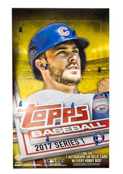 2017 Topps Series 1 Baseball Hobby Box (PLUS 1 Silver Bonus Pack!)