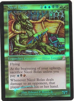 Magic the Gathering Time Spiral Single Nicol Bolas FOIL