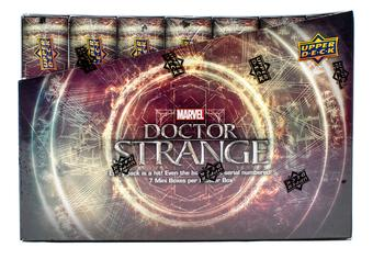 Marvel Doctor Strange Trading Cards Box (Upper Deck 2016)