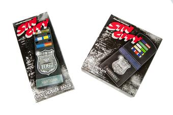 Sin City Limited Edition Movie Replica 2-Badge Set (NECA 2005)