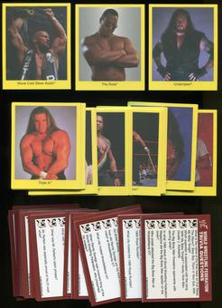 WWF World Wrestling Federation Wrestling Trivia Game Complete Card Set (Cardinal 1998)