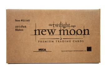 Twilight New Moon Trading Cards Blister Box - 60 Packs! - (NECA 2009)
