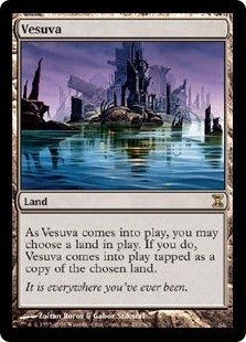 Magic the Gathering Time Spiral Single Vesuva - NEAR MINT (NM)