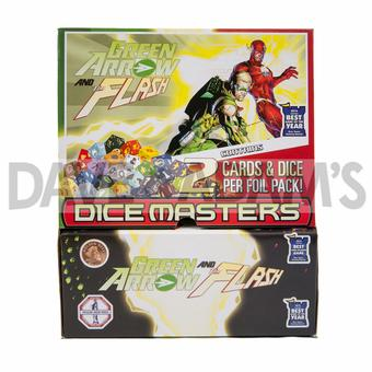DC Dice Masters: Green Arrow and the Flash Gravity Feed Box (90 Ct.)