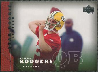 2005 Upper Deck #202 Aaron Rodgers Rookie
