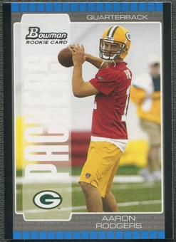 2005 Bowman #112 Aaron Rodgers Rookie