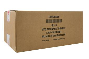 Magic the Gathering Amonkhet Bundle 6-Box Case