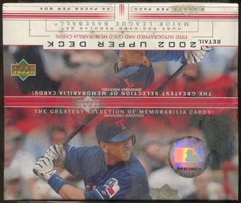 2002 Upper Deck Series 1 Baseball Retail 24-Pack Box
