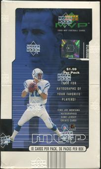 2000 Upper Deck MVP Football Prepriced Retail Box