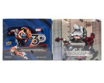 COMBO DEAL - Marvel Vibranium and Marvel 3D Hobby Boxes