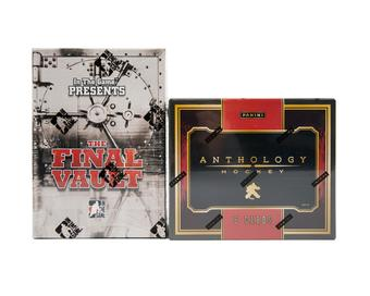 COMBO DEAL - 2015/16 ITG The Final Vault & Panini Anthology Hockey Hobby Boxes