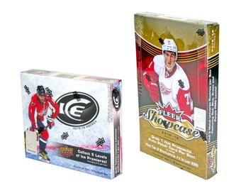 COMBO DEAL - 2015/16 Upper Deck Hockey Hobby Box (Ice, Fleer Showcase) (PLUS UD World Cup Packs!)
