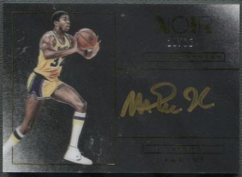 2015/16 Panini Noir #8 Magic Johnson Color Auto #20/25