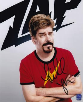 Michael Zapcic Autographed zap 8x10 Comic Book Men Photo