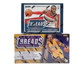 COMBO DEAL - Panini Basketball 2014/15 Threads Premium & 2015/16 Threads Premium Hobby Boxes