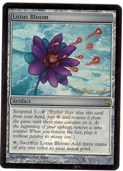 Magic the Gathering Time Spiral Single Lotus Bloom Foil (Prerelease)
