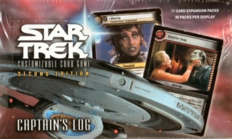 Decipher Star Trek Second Edition Captain's Log Booster Box