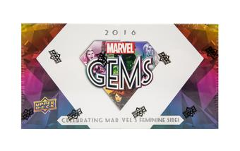 Upper Deck Marvel Gems Trading Cards Box (Upper Deck 2016)
