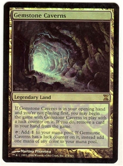 Magic the Gathering Time Spiral Single Gemstone Cavern Foil