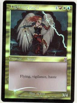 Magic the Gathering Time Spiral Single Lightning Angel Foil
