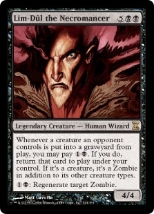 Magic the Gathering Time Spiral Single Lim-Dul the Necromancer Foil - NEAR MINT (NM)