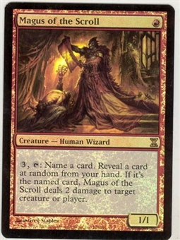 Magic the Gathering Time Spiral Single Magus of the Scroll FOIL