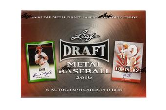 2016 Leaf Metal Draft Baseball Hobby Box