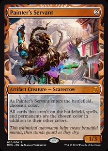 Magic the Gathering Kaladesh Inventions Single Painter's Servant Foil NEAR MINT (NM)