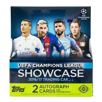 2016/17 Topps UEFA Champions League Showcase Soccer Hobby Box