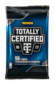 2016/17 Panini Totally Certified Basketball Hobby Pack