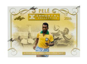2016 Leaf Pele Immortal Collection Soccer Hobby Box (Presell)