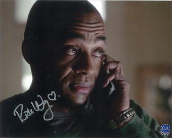 Rick Worthy Autographed talking 8x10 Supernatural Photo