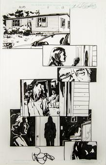 Alias #11 p.13 Michael Gaydos Original Comic Art