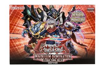Konami Yu-Gi-Oh Pendulum Domination Structure Deck Box
