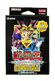 Konami Yu-Gi-Oh Movie Pack Gold Special Edition Deck