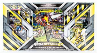 Pokemon Mega Beedrill-EX Premium Collection Box