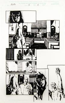 Alias #13 p.2 Michael Gaydos Original Comic Art
