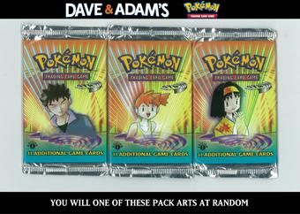 WOTC Pokemon 1st Edition Gym Heroes Booster Pack