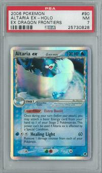 Pokemon EX Dragon Frontiers Altaria ex 90/101 Single PSA 7