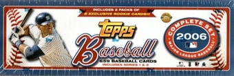 2006 Topps Factory Set Baseball Holiday (Box)