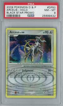Pokemon Promo Arceus DP50 Single PSA 8